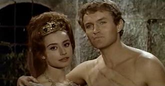 Raffaella Carrà - Carrà in Caesar the Conqueror, 1962