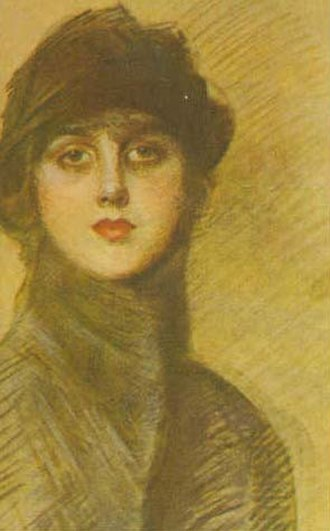 Gladys Spencer-Churchill, Duchess of Marlborough - Deacon portrayed by John Singer Sargent