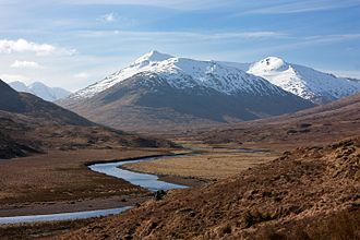 Highland - Glen Affric in the Scottish Highlands.