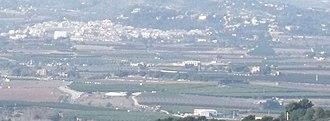 Godelleta - Image: Godelleta con campos