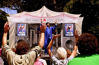 San Francisco Mime Troupe - 2006 performance of Godfellas