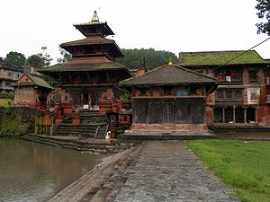 World Monuments Fund - The Mahadev Temple in Gokarna, Nepal, a conservation project of the International Fund for Monuments.