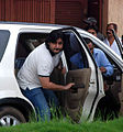 Goldie Behl visits Rajesh Khanna's home Aashirwad 19.jpg
