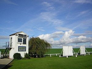 Goldsborough, North Yorkshire - Image: Goldsborough Cricket Club