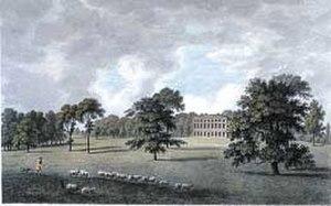 Goodnestone Park - Goodnestone Park in the 1770s