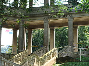 Gorgas Hospital - Gorgas Hospital main entryway