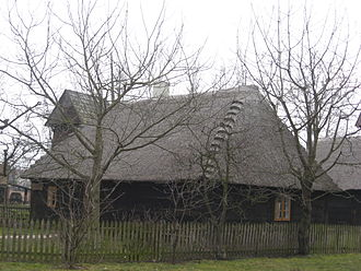 Konin - Gosławice district: Rural architecture, reflected in an open-air museum