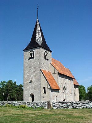 Bro Church, Gotland - Image: Gotland Bro kyrka 01