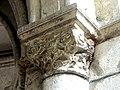 Gournay-en-Bray (76), collégiale St-Hildevert, chœur, 1ère grande arcade du nord, chapiteau côté est.jpg