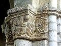 Gournay-en-Bray (76), collégiale St-Hildevert, chœur, 2e grande arcade du sud, chapiteau côté ouest 2.jpg