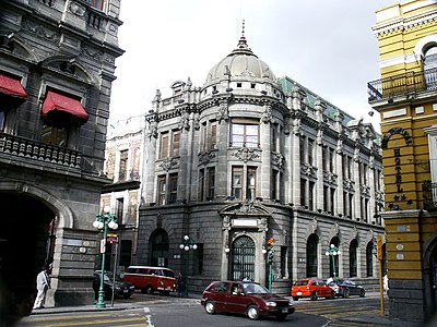 Hall of protocols of the State Government of Puebla, Puebla city. Government Building In Puebla.jpg
