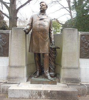 Zebulon Baird Vance - Statue of Vance at Raleigh
