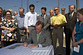 Governor signs Jobs and Transportation Act (3772593103).jpg