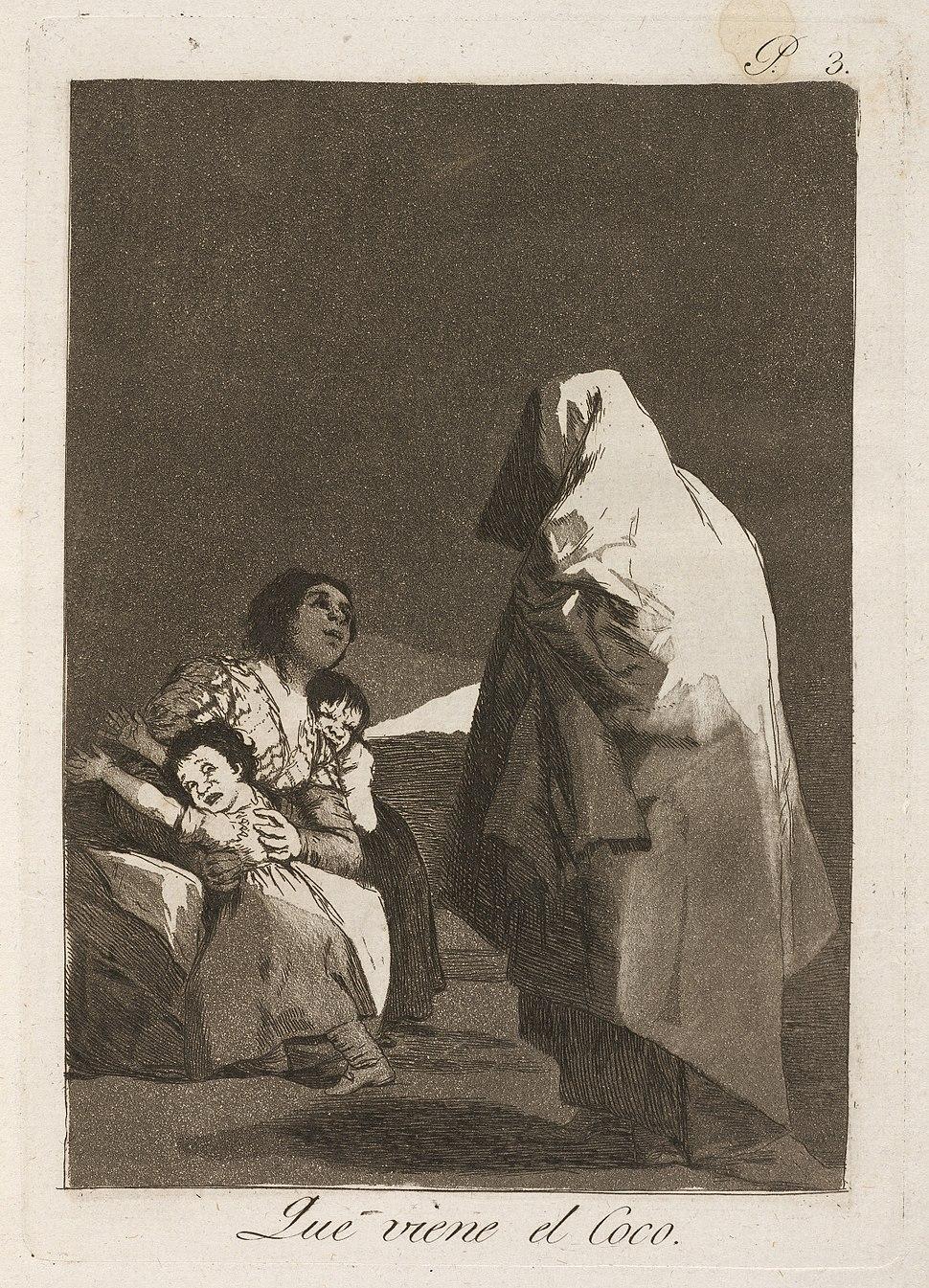 Goya - Que viene el coco (Here Comes the Bogey-Man)