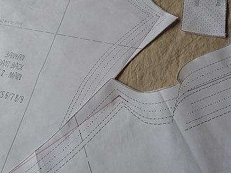 Pattern grading - Pattern grading in apparel