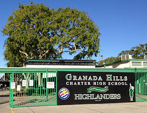 Charter schools in the United States - Image: Granada Hills Charter High School