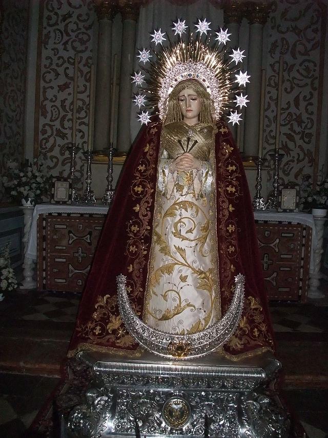 Granada-Iglesia de San Pedro-4-Nuestra Señora de los Dolores.JPG