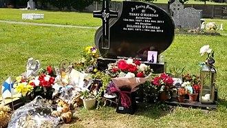 Dolores O'Riordan - O'Riordan's grave