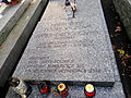 Grave of Hanka Ordonówna at Powązki Cemetery - 01.jpg