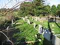 Graveyard at St Augustine's church, East Langdon - geograph.org.uk - 625162.jpg
