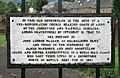 Graveyard information plaque - geograph.org.uk - 910707.jpg