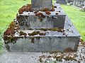 Great Haywood, Staffordshire - St Stephens Church - churchyard, grave of Henry Thomas Anson 2.jpg