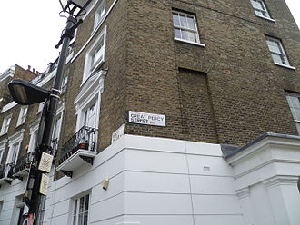 Robert Percy Smith - Great Percy Street and Percy Circus in London, named after Robert Percy Smith