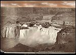 Great Shoshone Falls, Snake River, Idaho, O.S.L.U.Ry. C.R. Savage Salt Lake..jpg