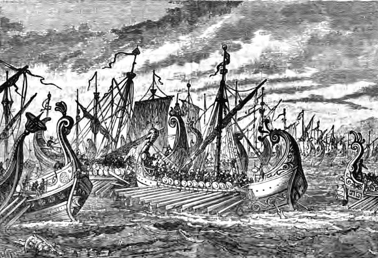 کشتی جنگی یونان در نبرد سالامیس