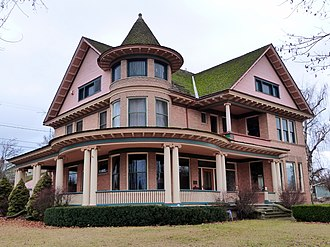 National Register of Historic Places listings in Adams County, Washington - Image: Greene House Ritzville Washington