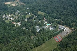 Birmingham, Huntingdon County, Pennsylvania - Grier School and the Borough of Birmingham
