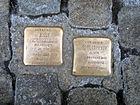 Großer Plan 2-3, Robert-Meyer-Platz 2, Celle, Stolperstein Jenny Schlüsselburg, geb. Neiovetz, Jg. 1881, deportiert 1943 Auschwitz ermordet 12.9.1943, Robert Meyer, Jg. 1874 ... 31.8.1943.jpg