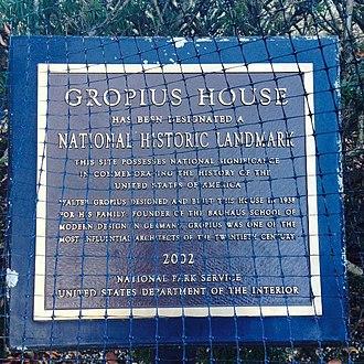 Gropius House - Image: Gropius house