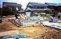 Ground-breaking ceremony on new home construction in rural Japan in January 1985.jpg