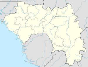 Yomou is located in Guinea