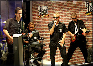 Cultural impact of the Guitar Hero series - Guitar Hero, which has expanded to include drums and vocals in addition to lead and bass guitar, has become a popular activity and has had a significant impact across several different industries.