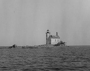 Gull Rock Light Station - Undated USCG photo.