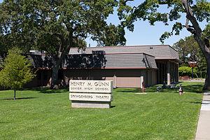 Gunn High School - Image: Gunn High School May 2011