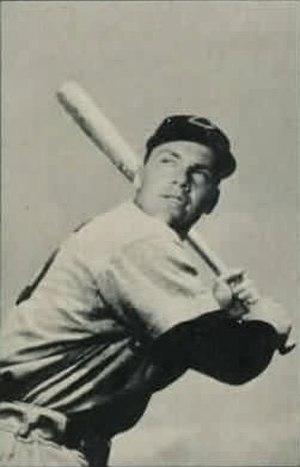 Keokuk Indians - Cincinnati Reds All-Star Outfielder Gus Bell, 1953