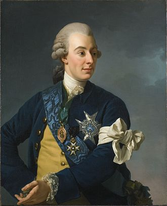 1772 in art - Image: Gustav III