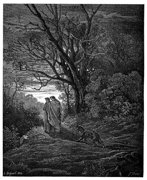 File:Gustave Doré - Dante Alighieri - Inferno - Plate 4 (Dante meets Virgil).jpg