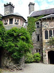 Gwydir Castle entrance
