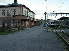 Härnösand jernbanestation 20050525.   JPG
