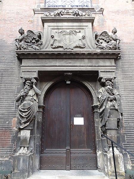 File h tel de bagis porte de la cour int rieure jpg for Porte de cour