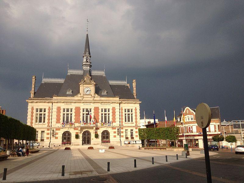 Chauny (Aisne, France) Townhall