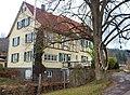 Hörnerreif, Karl Heger, Holz, 2009-2014 () Sculptoura, Skulpturenpfad auf dem Museumsradweg von Grafenau-Dätzingen bis Waldenbuch , Kunst in der Natur - Nah.Tour. Radweg - Heckengäu.Natur.Nah - MuseumsRadweg - W - panoramio.jpg
