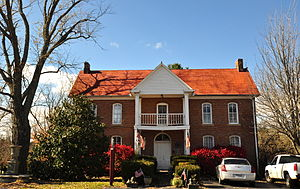 Altamont, Tennessee - The Northcutt House, built in 1885