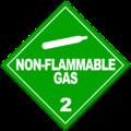 HAZMAT Class 2-2 Nonflammable Gas.png