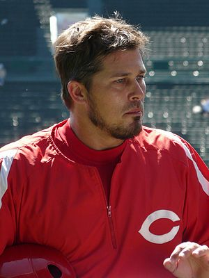 Andy Phillips - Phillips with the Cincinnati Reds