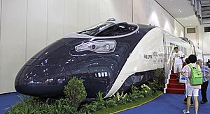 HEMU-430X - HEMU-430X Mockup at Busan Logistics Fair 2013